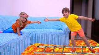 الكلمة هي الحمم !!! the floor is lava