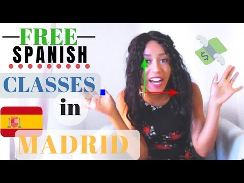 How To Learn Spanish For Free In Madrid | (All Levels)