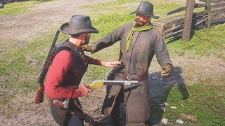 Red Dead Redemption 2 - Brutal Epic & Funny Gameplay Moments Compilation #8