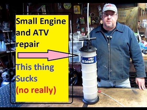 This Sucks! PELA 650 oil extractor