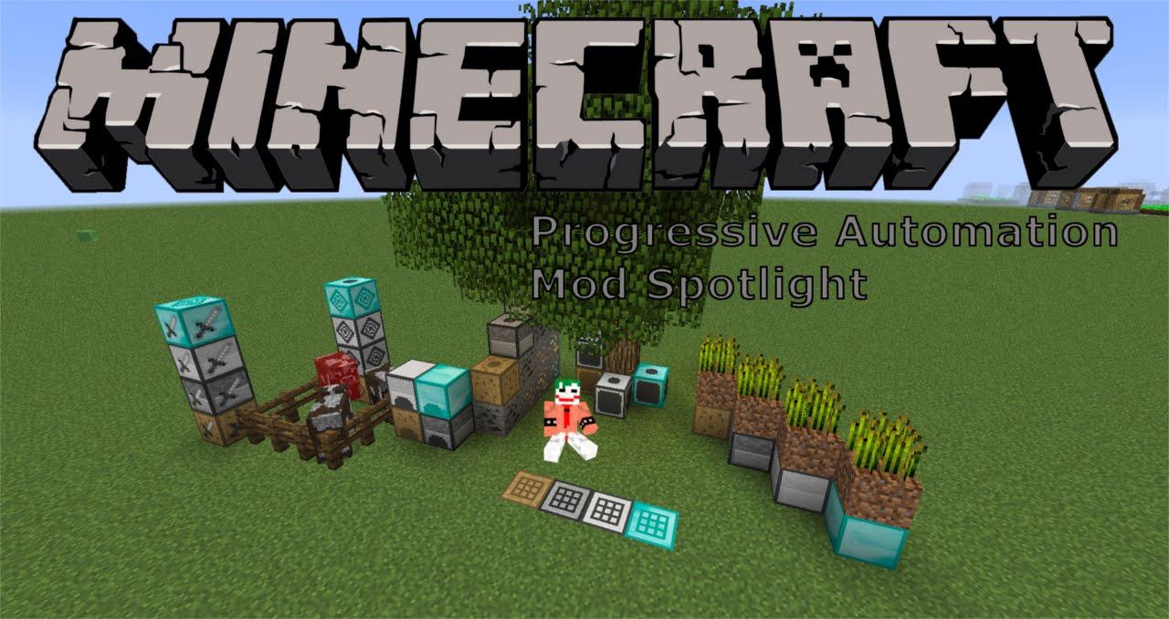 automation mod minecraft