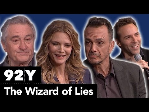 Cast and creative team behind HBO Films' The Wizard of Lies with The Hollywood Reporter