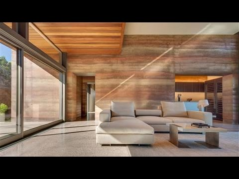 Rammed-Earth Construction Gets Luxury Makeover - YouTube on roof house designs, architectural house designs, log house designs, cement house designs, permaculture house designs, shipping containers house designs, cob house designs, green architecture house designs, eco-block house designs, earth sheltered house designs, masonry house designs, adobe house designs, mud house designs, house house designs, hydraform house designs, adobe style homes designs, passive house designs, ferrocement house designs, construction house designs,