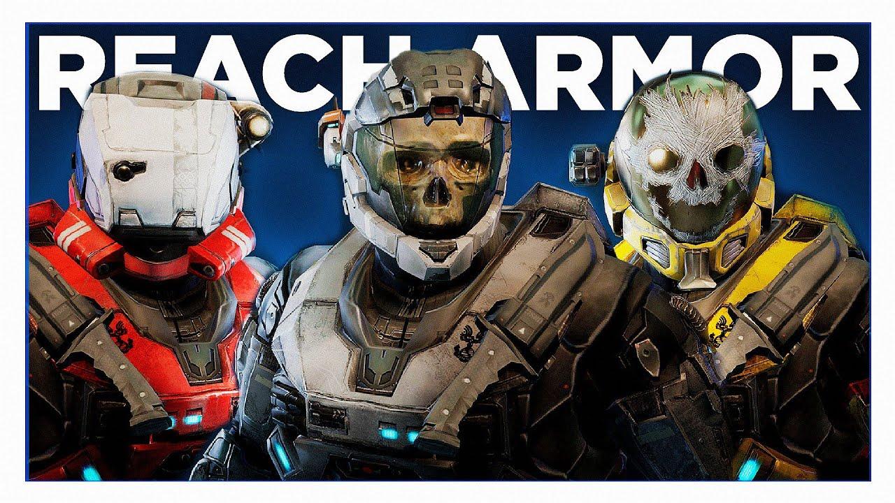 Huge New Halo Reach News All Armor Customization Season Unlocks And Progression Revealed More