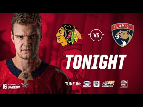 NHL 18 PS4. REGULAR SEASON 2017-2018: Chicago BLACKHAWKS VS Florida PANTHERS. 11.25.2017. (NBCSN) !