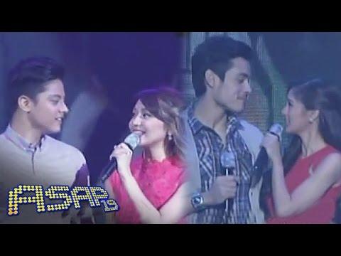 Kathniel, Kimxi sing 'Ako'y Sayo Ika'y Akin Lamang' on ASAP