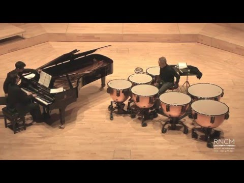 Bach Toccata and Fugue, BWV 565, arranged for timpani and piano by Randy Max