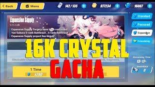 Gacha 16.000 Crystal Honkai Impact SEA (崩坏3rd)