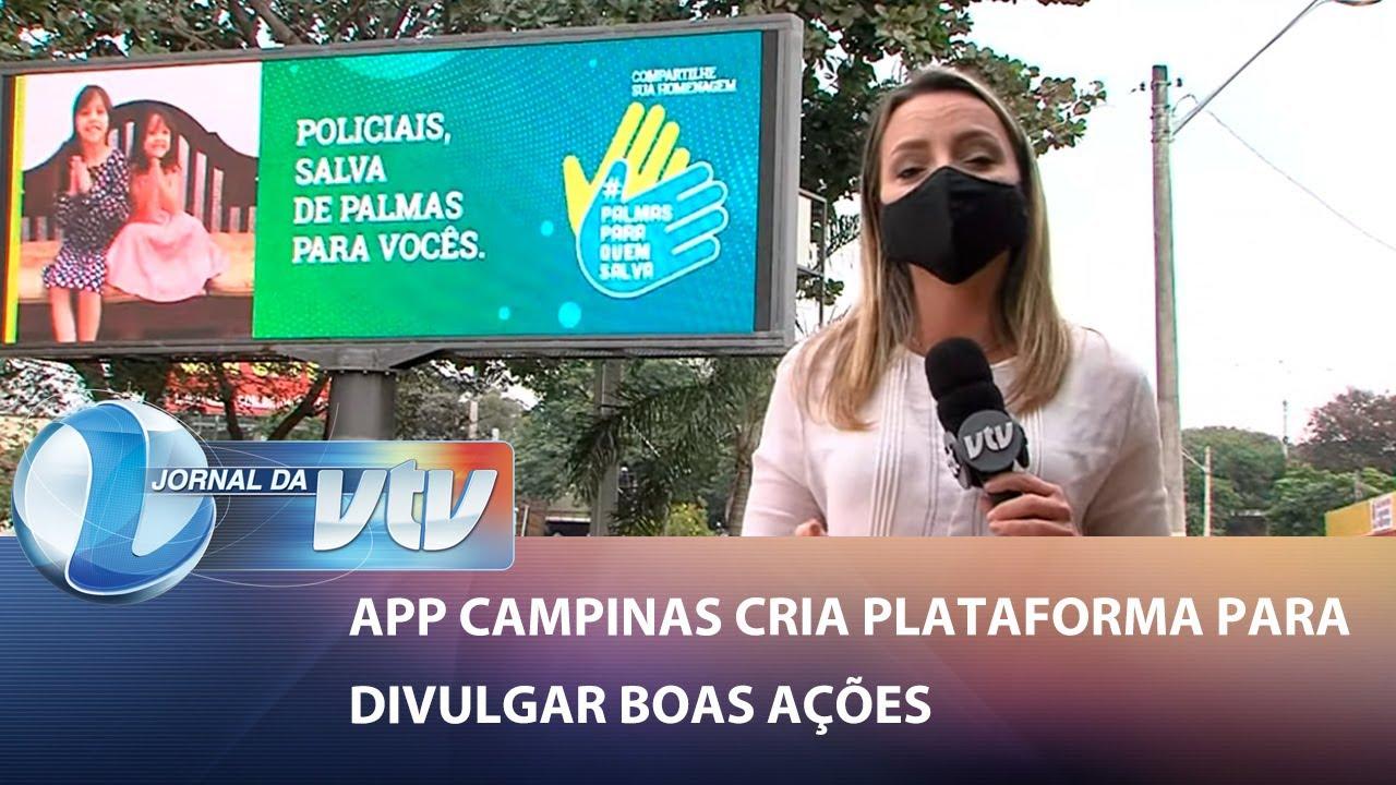 #PalmasParaQuemSalva é destaque em matéria do jornal da SBT.