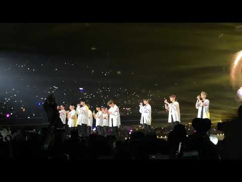 180713 WANNA ONE 워너원 - Gold @ ONE: THE WORLD in SINGAPORE