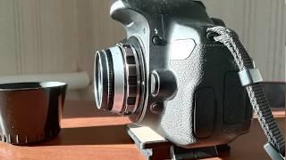 Индустар 61 л/д  для зеркальной камеры как портретник. DSLR