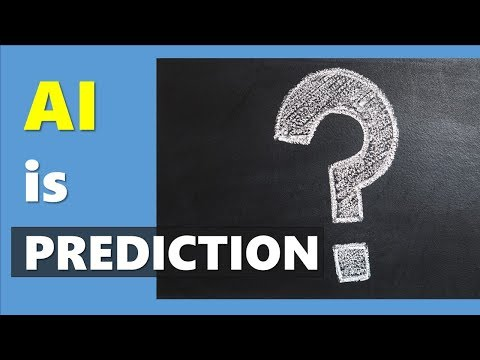 [AI ML Definition] Artificial Intelligence is Predictions (What is AI  Mind Data AI Strategy)