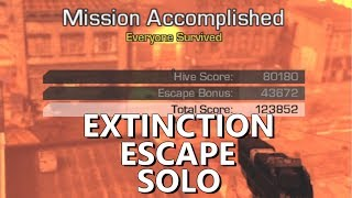 Call Of Duty Ghosts Extinction How To Escape full gameplay solo