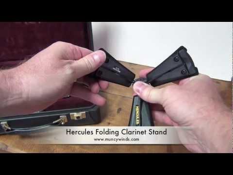 Hercules Folding Clarinet Stand