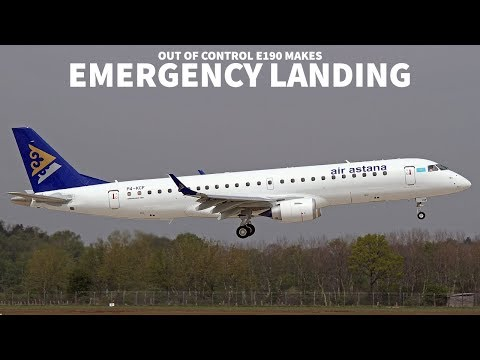 Out of Control ERJ190 Lands in Portugal
