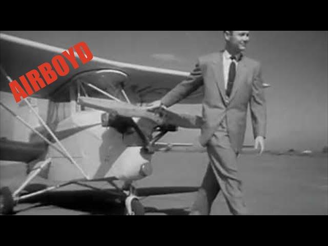Pocket Sized Biplane (Ca 1950's)