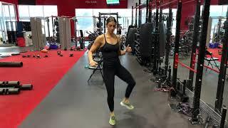 Lower limb dynamic stretches