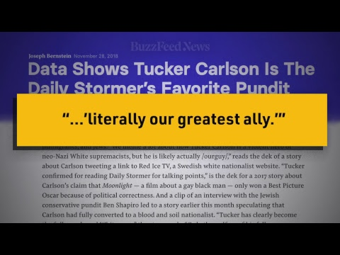 Samantha Bee Demolishes 'White Supremacist' Tucker Carlson of Fox News