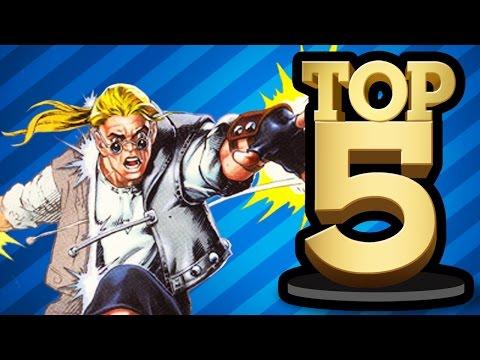 TOP 5 VIDEO GAME CREATED HEROES