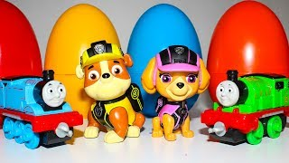 Мультики Щенячий патруль новые серии Развивающие мультики для детей Игрушки Томас и его друзья