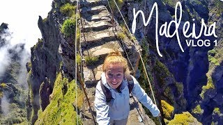 Madeira, the most thrilling hike: Pico do Arieiro to Pico Ruivo | Vlog 1 | World Wanderista
