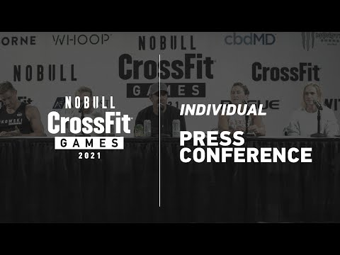 2021 CrossFit Games Individual Day 3 Press Conference