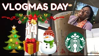 Vlogmas Day 14| Starbucks,Smoothie King and Subway ...Oh My!