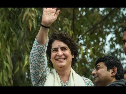 Priyanka Gandhi Vadra begins 'Mission UP' with Mega Lucknow Roadshow