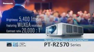 panasonic projector 1 chip dlp projector pt rz570 introduction