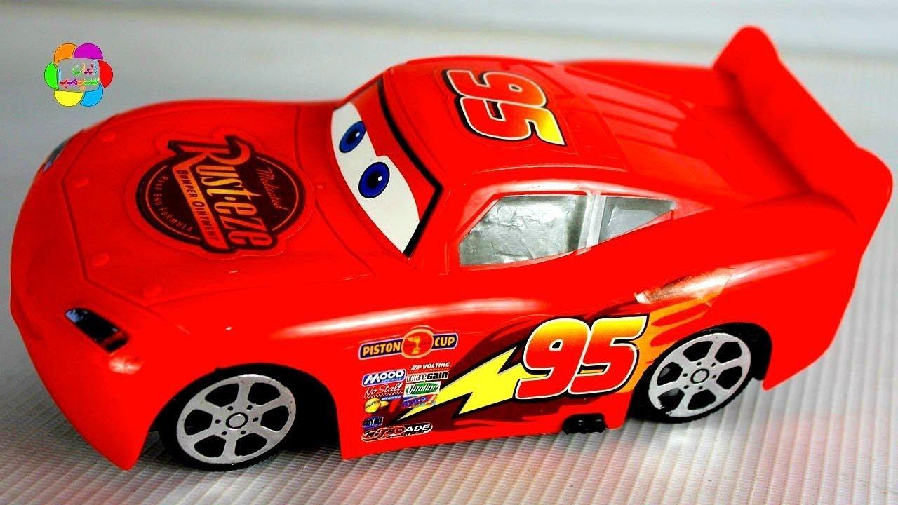 لعبة السيارة الحمراء المضحكة الجديدة للاطفال اجمل العاب السيارات