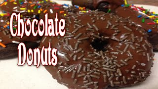 Chocolate Donuts ~ Easy And So Good!