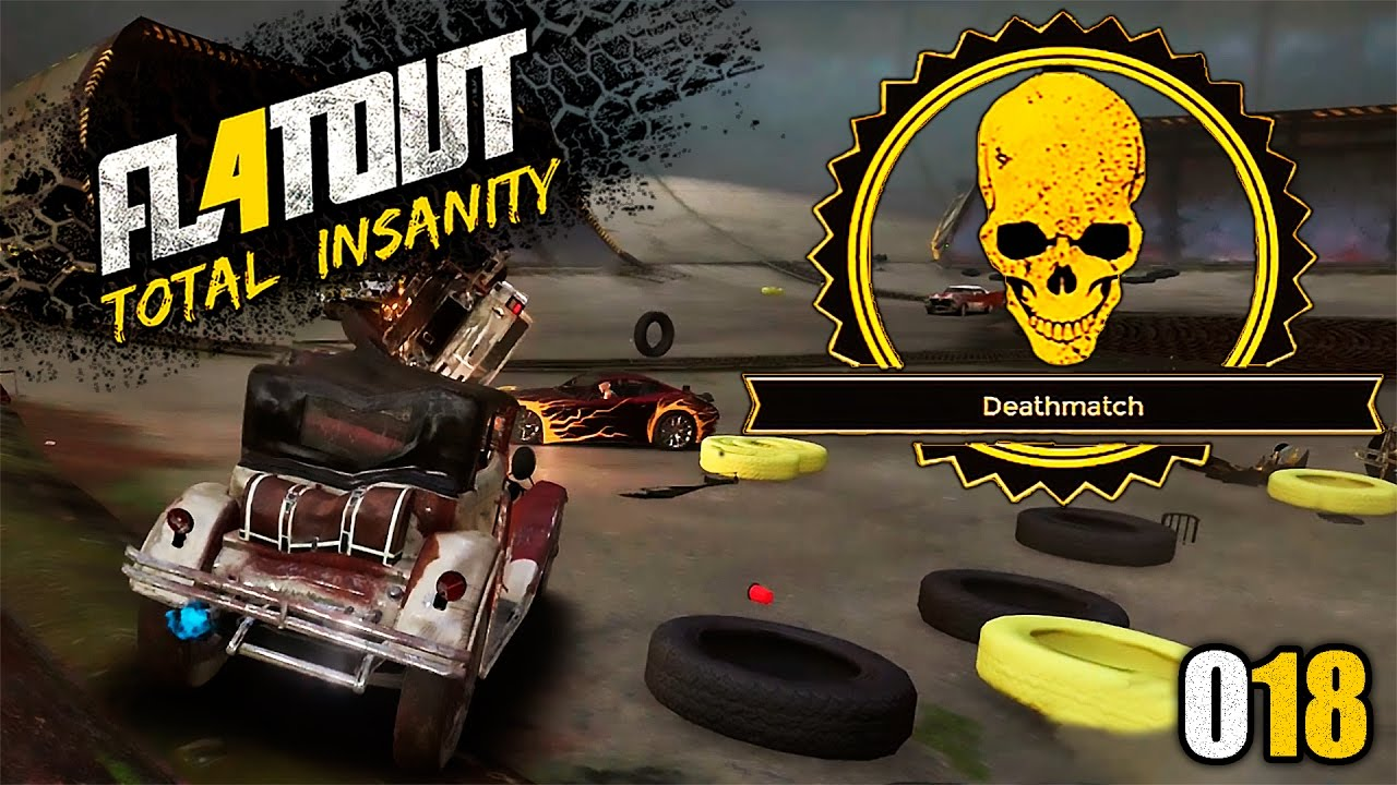 flatout 4 total insanity 018 ein deathmatch mit einem schrottwagen deutsch let 39 s play. Black Bedroom Furniture Sets. Home Design Ideas