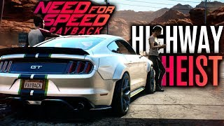 NEED FOR SPEED PAYBACK FIRST GAMEPLAY!!! | HIGHWAY HEIST & VW BUG BUILD (2017)