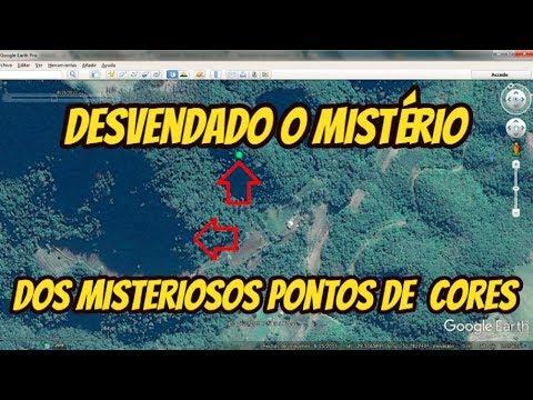 Desvendado o misterio dos pontos de cores no Google Earth