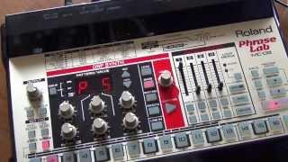 Roland mc 09 - acid demo
