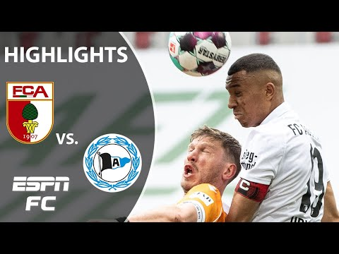 Arminia Bielefeld out of relegation zone with hard-fought draw vs. Augsburg | Bundesliga Highlights