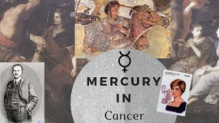 Mercury in Cancer Man or Woman