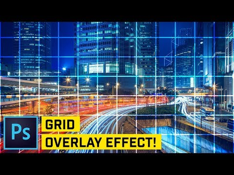 Create A PRECISE Grid Overlay In Photoshop