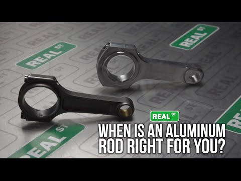 Jay's Tech Tips - When Are Aluminum Rods Right for You? - Real Street Performance