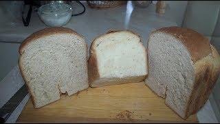 Токарь-пекарь. Молочный хлеб из цельнозерновой муки. Сравнение.