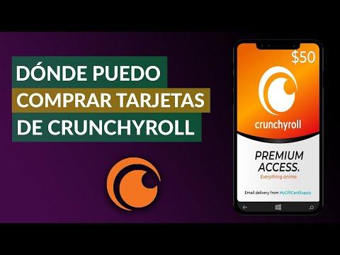Donde Puedo Comprar Tarjetas Crunchyroll - Dónde las Venden