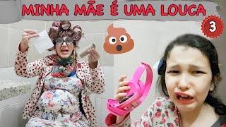 MINHA MÃE É UMA LOUCA - Novelinha Capítulo 03 | Luluca