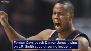 Former Cavs coach Damon Jones dishes on JR Smith soupthrowing incident