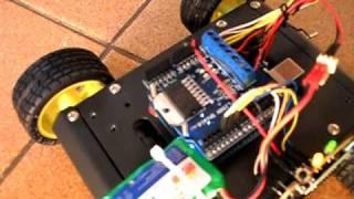 Arduino Controle PS2 + Motor shield + RF + Carrinho