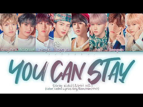 Stray Kids - You Can STAY (Color Coded Lyrics Eng/Rom/Han/가사