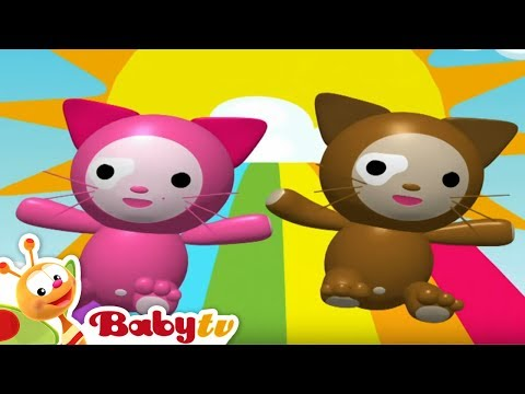 Head and Shoulders - Nursery Rhymes | BabyTV