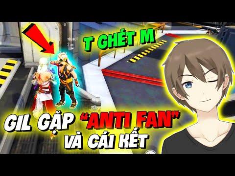 """[Free Fire] GIL PHÁT HOẢNG KHI GẶP """"ANTI"""" FAN CỰC GHÉT MÌNH !?!"""