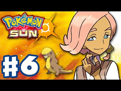Pokemon Sun and Moon - Gameplay Walkthrough Part 6 - Ilima's Island Trial! (Nintendo 3DS)
