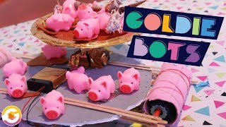 FROGS 🐸 vs. HOGS 🐷 | ROBOT BATTLE | GoldieBlox