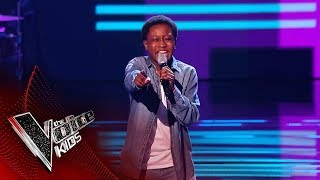 Raphael Performs 'You Can't Stop The Beat' | Blind Auditions | The Voice Kids UK 2019